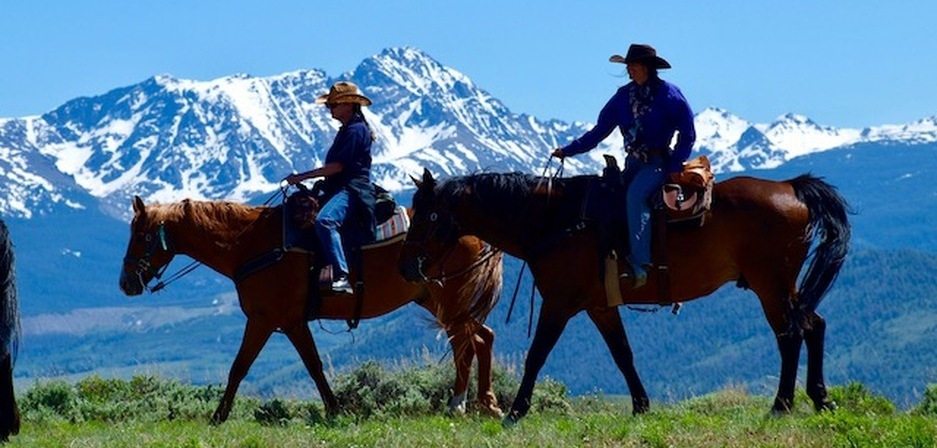 rusty spurr ranch trail rides colorado trail rides